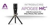 Apogee announces the new MiC Plus USB microphone