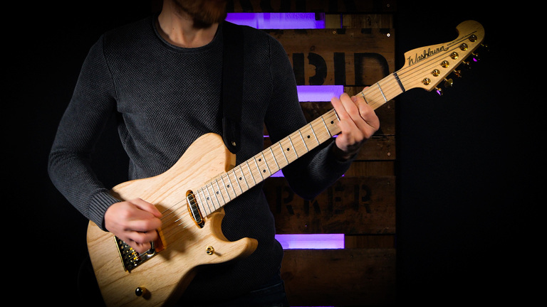 First Play Video: Washburn Nele Series Nuno Bettencourt Signature Guitars