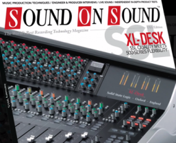Sound On Sound January 2015 edition out now with SSL XL-Desk front cover…