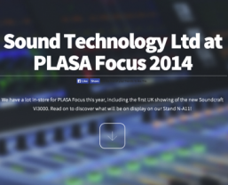 Sound Technology at PLASA Focus 2014