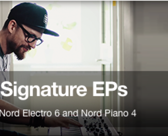 Nord introduces the Ondre J Signature EPs for Stage 3, Electro 6 and Piano 4
