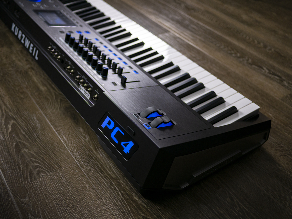 First UK showing of new Kurzweil PC4 Performance Controller at Synth Fest 2019