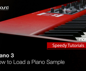 Nord Speedy Tutorial: How to Load a Piano Sample