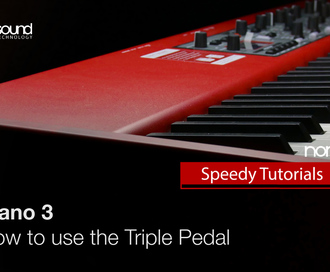 Nord Speedy Tutorial: How to use the Triple Pedal