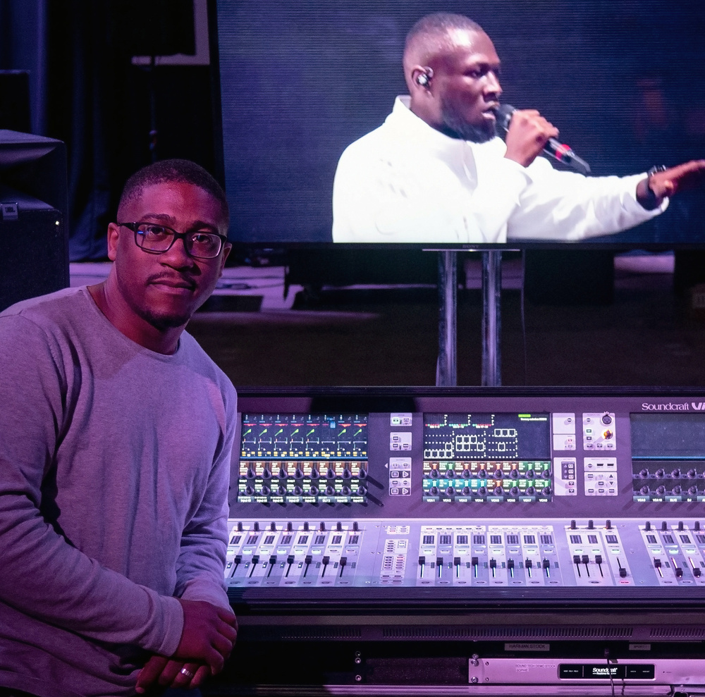 Free live stream interview with Raphael Williams, FOH Engineer for Stormzy, on 10th August
