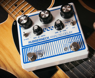 Exploring the DOD Rubberneck analogue delay