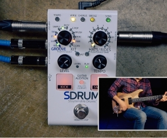 VIDEO: Using the DigiTech SDRUM as a songwriting tool