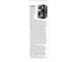 Sound On Sound magazine review the new JBL 306P MkII studio monitors