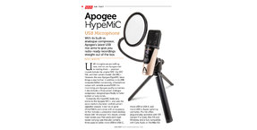 Sound On Sound review the Apogee HypeMic