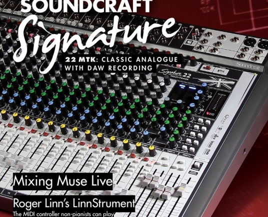 Soundcraft Signature MTK Series lands cover of Sound On Sound   From