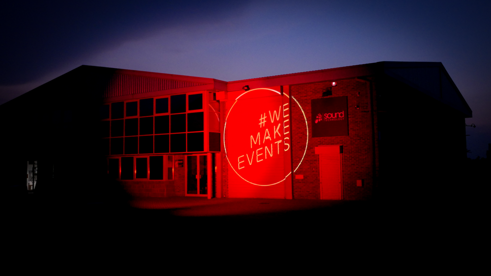Sound Technology supports #WeMakeEvents RED ALERT