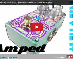 Sonic State review the 'outstanding' DigiTech Polara Stereo Reverb pedal
