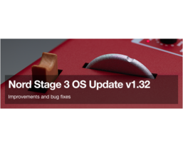 Nord Sample Converter and Stage 3 OS v1.32 now available