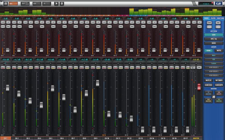 Exploring the Soundcraft Ui24R V2 software Update