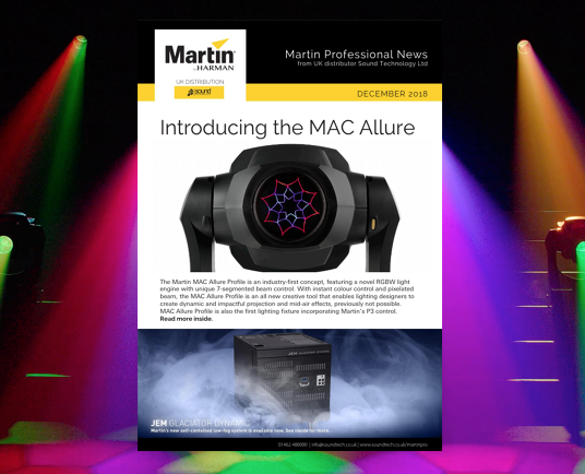 Martin Professional News in the UK December 2018