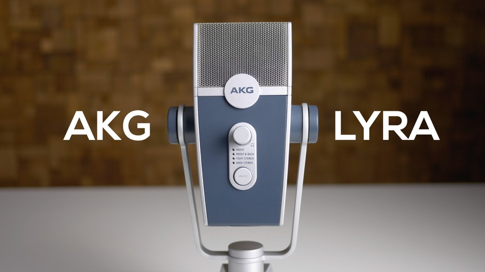 Unboxing the AKG Lyra Microphone