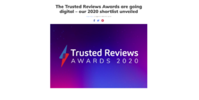 Austrian Audio Hi-X55 headphones shortlisted in Trusted Reviews Awards 2020