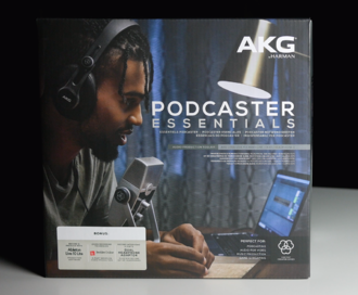 First Look at the AKG Podcaster Essentials Bundle
