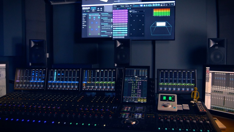 HARMAN JBL Professional solutions for small-format post-production rooms - including Dolby Atmos