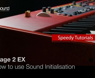 Nord Speedy Tutorial: How to use the Sound Initialise Function on a Stage 2 / EX