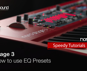 Nord Speedy Tutorial : How to use Piano Filter Presets on the Nord Stage 3