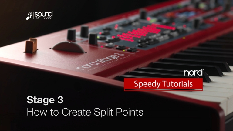 Nord Speedy Tutorial: How to Create Split Points on a Nord Stage 3