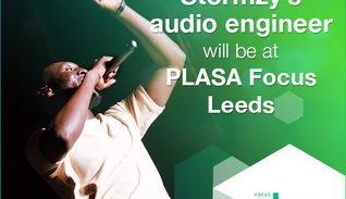 Soundcraft presents: the Stormzy mix with Raphael Williams at PLASA Focus