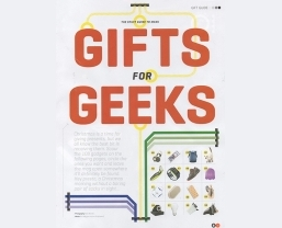 Stuff magazine showcases Teenage Engineering in 'Gifts for Geeks'