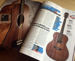 Washburn Woodline Series WLO12SE awarded Total Guitar 'Best Buy'
