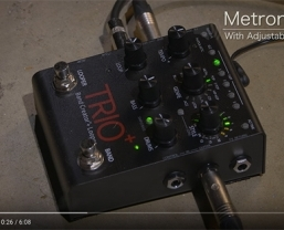 VIDEO: Using the DigiTech TRIO+ as a practise tool