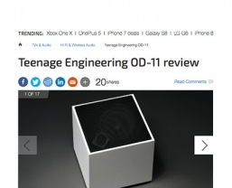 Trusted Reviews calls the Teenage Engineering OD-11 'astonishing'
