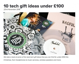 What Hi-Fi includes Teenage Engineering PO-20 Pocket Operator in '10 tech gift ideas under £100'