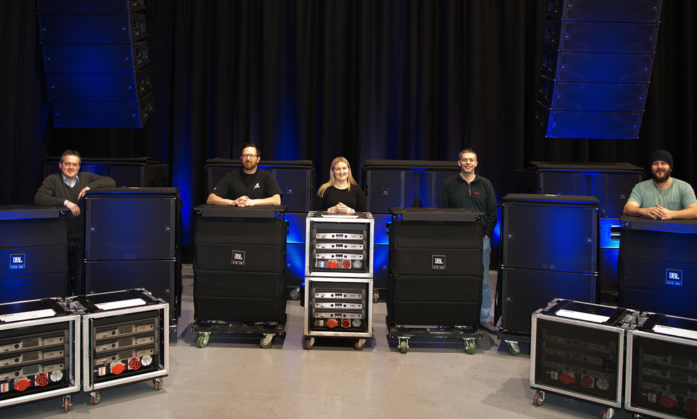 Adlib makes major investment in JBL's next generation VTX A-Series