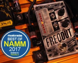 MusicRadar chooses DigiTech FreqOut as 'Best in Show, Pedals/Effects' at NAMM 2017