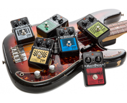 Guitar Interactive review the new EBS Black Label Studio Edition pedals