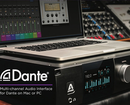 Apogee announce Dante™ network option card for Symphony I/O MKII