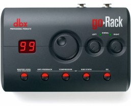 Sound Technology announces shipping of the dbx® goRack™ loudspeaker management processor