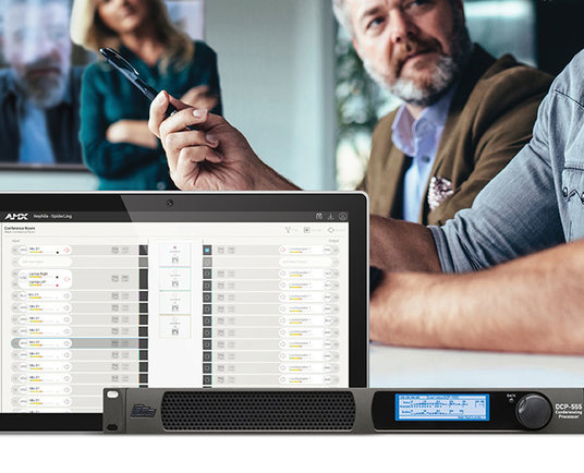 HARMAN Professional Solutions debuts intelligent meeting room audio with BSS DCP-555 Conferencing Processor