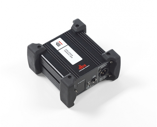 dbx Di1 direct injection box with HARMAN Connected PA compatibility now available