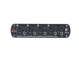 dbx Di4 active 4-channel Direct Box with Line Mixer now available