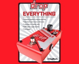 DigiTech introduces the Drop polyphonic drop tune pedal