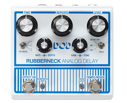 DOD Rubberneck analogue delay pedal now available