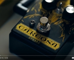 DOD Carcosa Fuzz pedal featured in new MusicRadar video series