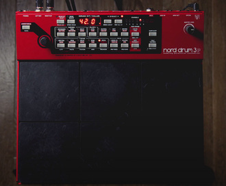 Our guide to the Nord Drum 3P drum and percussion synthesizer