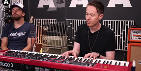 Anderton's Interview David Tench on Why the Nord Stage 3 and Nord Wave 2 are ideal for Session Musicians