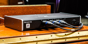 Apogee updates Element Series with Talkback feature and Apogee Control compatibility