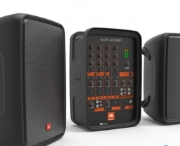 JBL Professional EON208P portable PA system ships in the UK