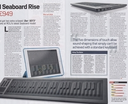 Future Music review the new ROLI Seaboard RISE 49
