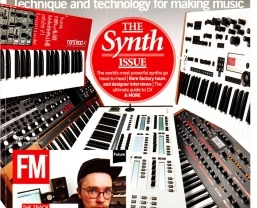 Extensive Nord coverage in 'The Synth Issue' of Future Music