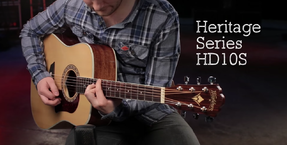 Washburn Heritage and Woodline series product videos now online